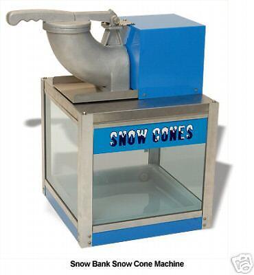 Snow Bank Sno Cone Machine Ice Shaver Benchmark 71000