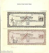 Hundis, Share Certificate