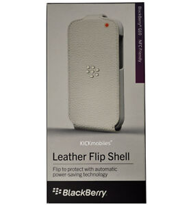 BlackBerry Leather Flip Shell for Q10