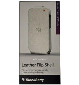BlackBerry Leather Flip Shell for Q10