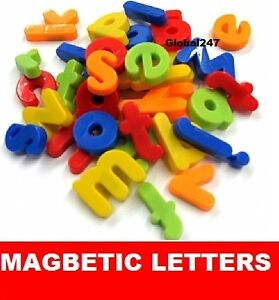 Magnetic Letters Childrens lower Case Childrens Kids Alphabet Magnets 26 Fridge