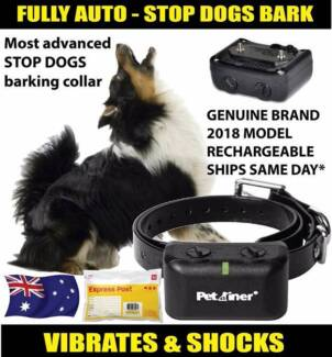 Dog Collars to correct or stop barking for small and large dogs
