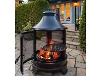 BBQ Fire Pit Cooking Burner Boxed Brand New. Free delivery