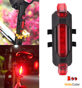 Brand new USB Rechargeable BICYCLE LIGHT 5 LED