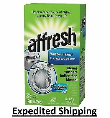 Affresh HE Washing Machine Cleaner Pick 3, 6, 10, 12 and 24 Pack Tablets NEW He Washer Cleaner