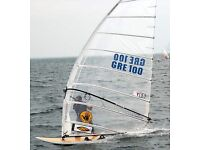 NEW 11m YES Formula windsurfing sail AND matching YES 560 100% carbon mast
