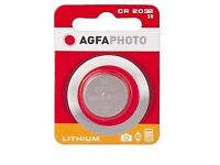 PROMOTION :BRAND NEW AGFA CR2032 EXP 2021 FOR ONLY AND FREE SHIPPING