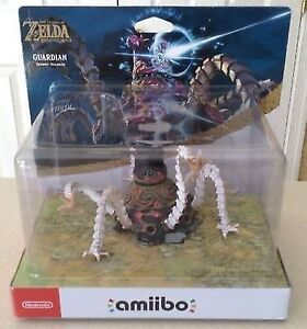 Amiibo Guardian very rare new and sealed