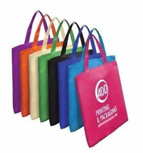 Customize Promotional Reusable Logo Printed Non-Woven Shopping Bags