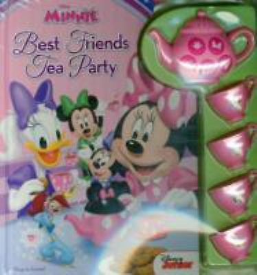 Disney Minnie Mouse - Best Friends Tea Party Sound Book with Interactive (Best Minnie Mouse Party)
