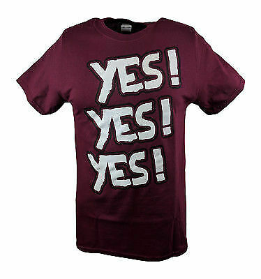 Daniel Bryan Yes Yes Yes Mens Red (Daniel Bryan Yes Yes Yes T Shirt)