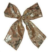 Gold Christmas Tree Bows