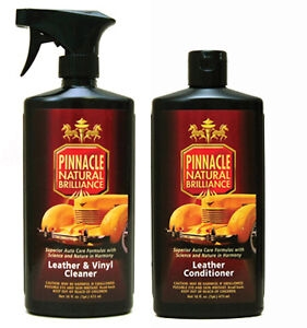 Pinnacle Leather Combo Leather Cleaner Conditioner Car Seats Jacket Sofa Ebay