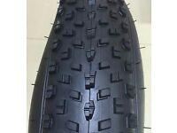 2 tyres 26 x 4.0 Beach Cruiser Chopper MTB Fat Bike Bicycle Cycling Tire 60TPI