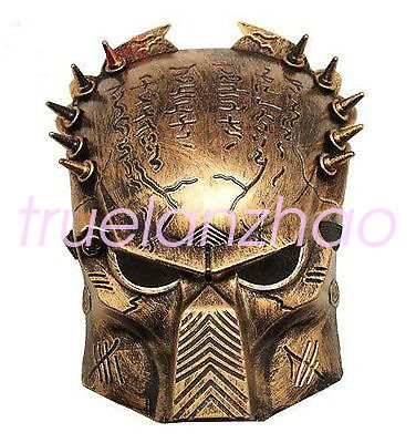 56abc30b7 Golden Army of Paintball Airsoft BB Gun Mask Iron Man Lone Wolf Predator  Mask