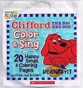 CD Clifford The Big Red Dog