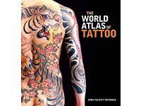 Brand new 'The world atlas of tatoo' book