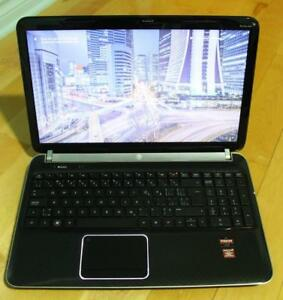 HP Pavilion DV6 15.6'' Quad core A8 turbo 2.6GHZ 6GB 500GB,Dual graphics -HD Radeon 6700M with 2GB, McOffice PRO 2016