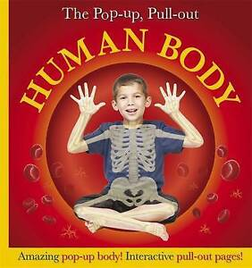 Pop-Up, Pull-Out Human Body,