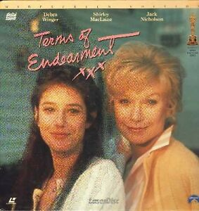 Terms Of Endearment Laserdisc 2 disc Widescreen Edition