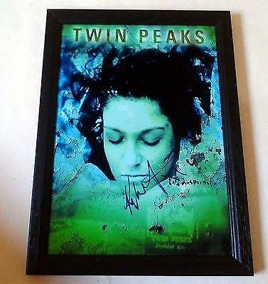 "TWIN PEAKS PP SIGNED & FRAMED 12"" X 8"" POSTER Kyle MacLachlan"