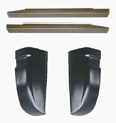 1988-1998 CHEVROLET PICKUP C/K 1500 ROCKER PANELS AND CAB CORNERS !!!NEW!!!