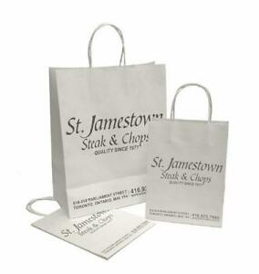 Shopping Paper Bag/Logo Printing Paper Bag/Laminated Paper Bag/Customize Paper Bag/Grocery Paper Bag