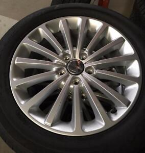 "DEALER TAKE OFFS 17"" Volkswagen Passat Rims with Hankook Kinergy GT 215/55R17 94H City of Toronto Toronto (GTA) Preview"