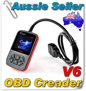 Launch Creader VI OBD2 OBDII EOBD Code Reader Auto Diagnostic Code scanner Car