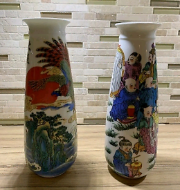 Two Chinese vase for sale.