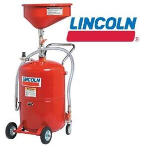 NEW* LL PRESSURIZED USED OIL DRAIN - 123097884 - LINCOLN LUBRICATION EVACUATION