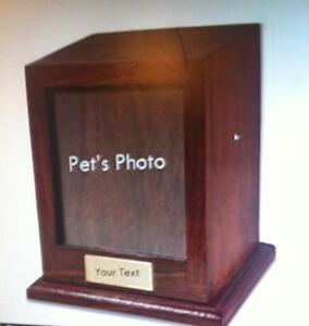 Solid Wooden Pet Urn's