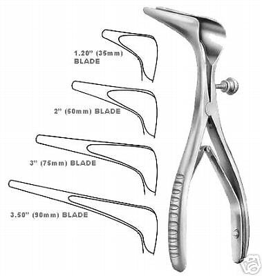 Cottle Septum Nasal Speculum 6.00 Blade 2 50mm