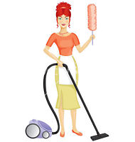 CLEANING  LADY  AVAILABLE ! !       $20.00/HOUR