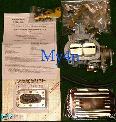 Suzuki samurai performance engine motor weber header