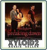 Twilight Breaking Dawn CD