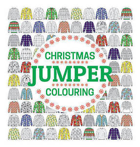 Gmc Editors-Christmas Jumper Colouring  BOOK NEW