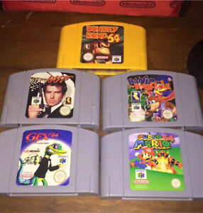 N64 console + 5 games and controller Morley Bayswater Area Preview