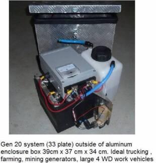 Hydrogen generator/system fuel for Motor-Homes and Campervans