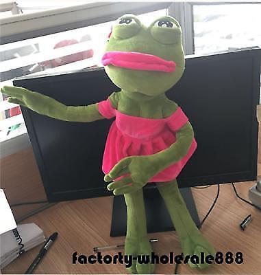 The Frog Sad Frog Pepe Girlfriend Plush 4chan Kekistan Meme Doll Stuffe Gif 18''