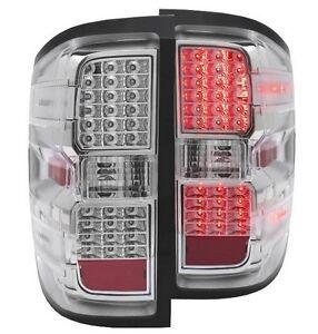 14+ Silverado 1500 | 15+ Silverado HD Chrome LED Taillights Strathcona County Edmonton Area image 1