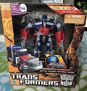Transformers HFTD Battle Blades  VOYAGER Optimus Prime MISB