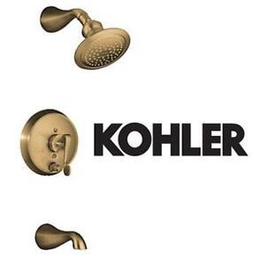 NEW* KOHLER BATH/SHOWER FAUCET TRIM - 130794091 - LAVATORY REVIVIAL RITE TEMP PRESSURE BALANCING VIBRANT BRUSHED BRONZE