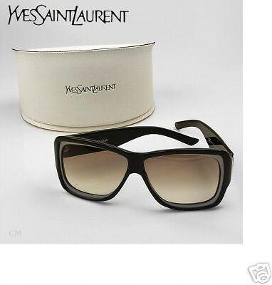 Yves Saint Laurent Sunglasses Black 2-tone Frame