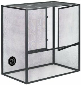 Fresh Air Screen Reptiles Habitat, 18 by 12 by 20-Inch