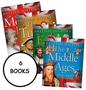 British History ** Set of 6 Books ** NEW ** in ZIPLOCK BAG ** rrp £36.00