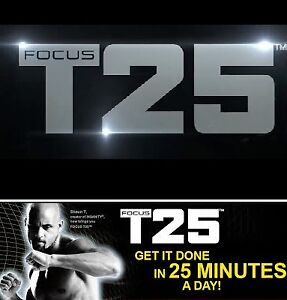 "Shaun T's ""Focus T25: Alpha, Beta & Gamma"" Workout Fitness"