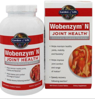NEW GARDEN OF LIFE WOBENZYM 800 TABLETS Newcastle Newcastle Area Preview