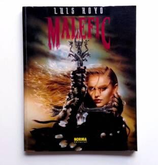 Luis Royo - MALEFIC - 1st Edition 1994 - Norma Editorial