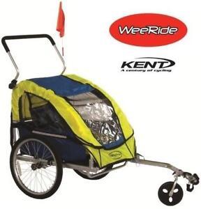 USED* KENT WEERIDE TRAILER STROLLER - 130475197 - BIKE BICYCLE TRAILER